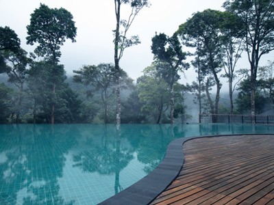 Infinity Swimming Pool - Coorg Wilderness Resort